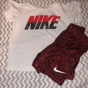 Nike matching set 12 month
